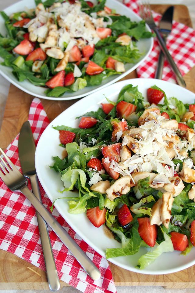 Eine Runde Sommersalate für alle | Fee ist mein Name