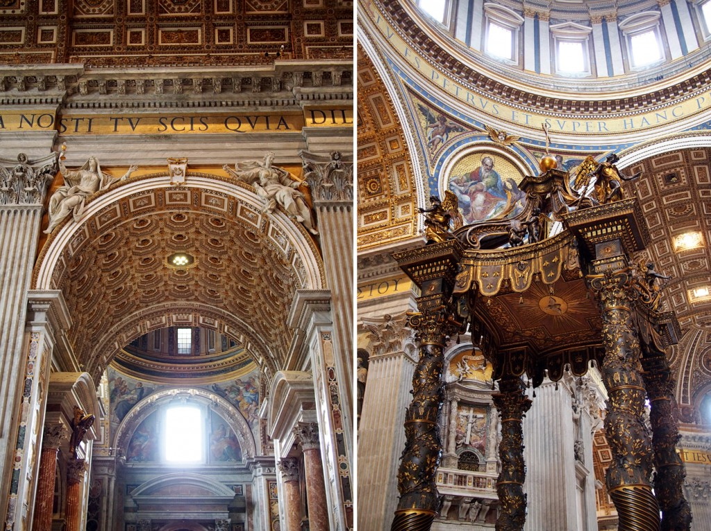 Fußboden Im Petersdom ~ Wer nach rom reist muss den petersdom sehen fee ist mein name