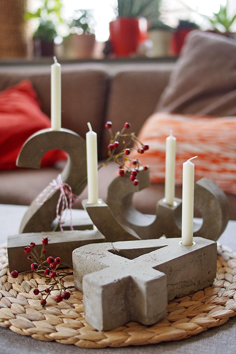 ey voll konkreter diy blitz zement adventskranz fee ist mein name. Black Bedroom Furniture Sets. Home Design Ideas
