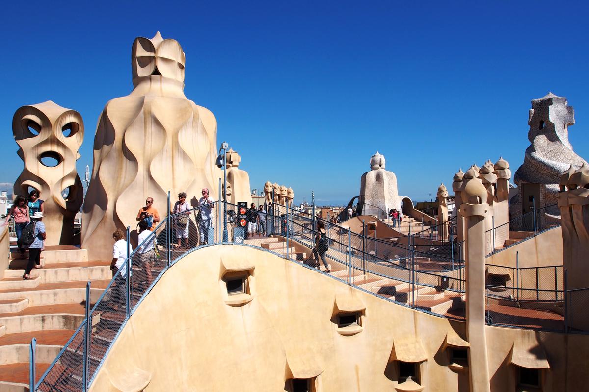 Casa Milà in Barcelona – Gaudí und der Steinbruch